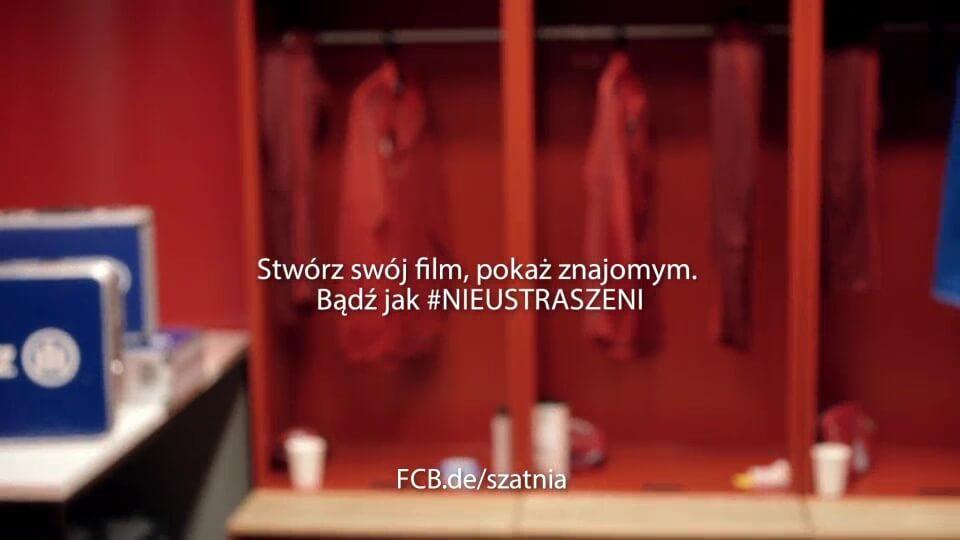 Personalisiertes Motivationsvideo für Allianz FC Bayern mit DDD Hamburg Outro polnisch