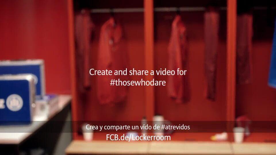 Personalisiertes Motivationsvideo für Allianz FC Bayern mit DDD Hamburg Outro spanisch