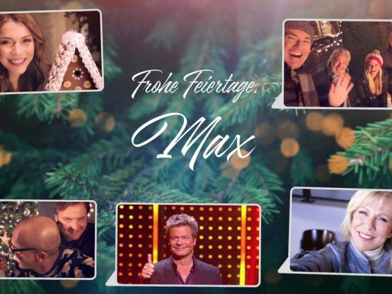 Personalisiertes Video für IP Deutschland & RTL Mediengruppe Festtagsgruß