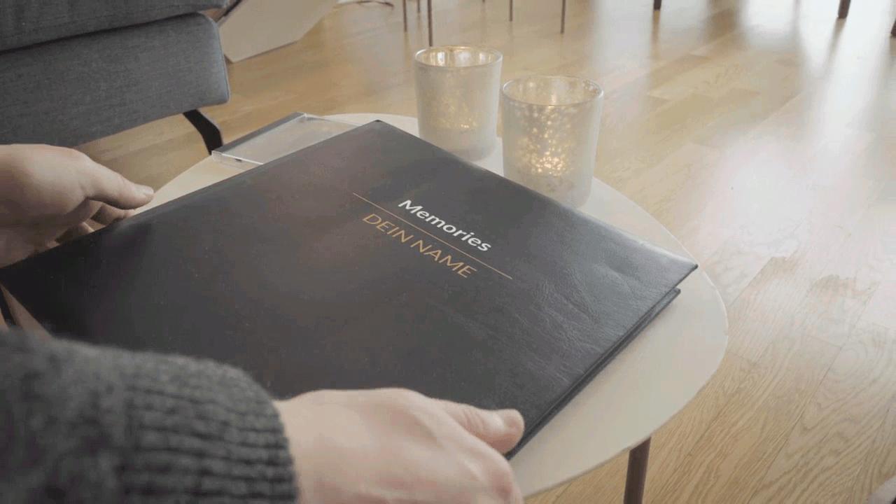 Video Personalisierung für Eurovision Song Contest Text Individualisierung auf Buchcover